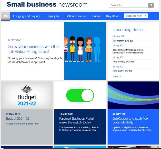 ATO Small Business Newsroom - May / June